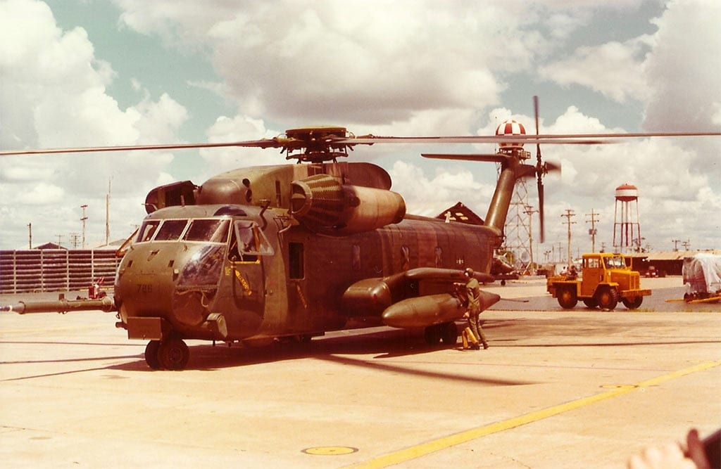 HH-53 after rescue