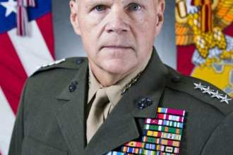 Gen. Neller's Official CMC Command Board Photo