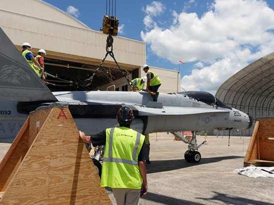 Boeing and Marine Corps Regenerating F/A-18s | Video
