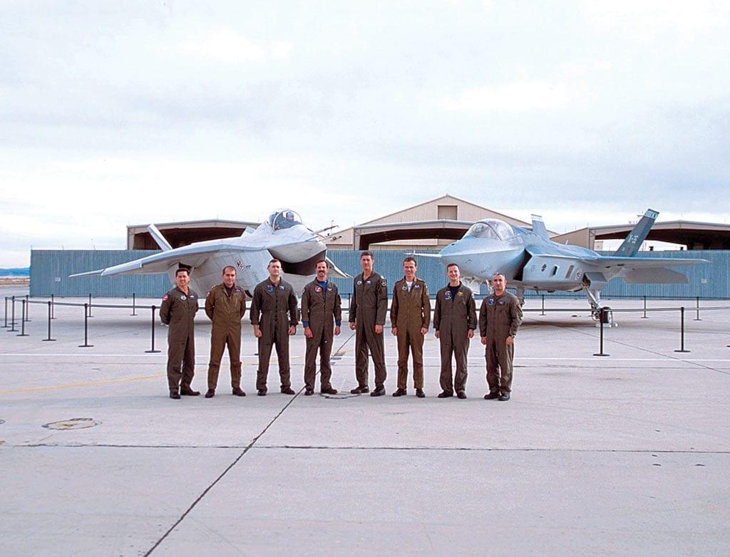 x-32-pilots