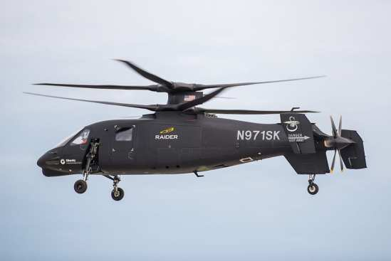 Lockheed Martin Sikorsky S-97 Raider | Video