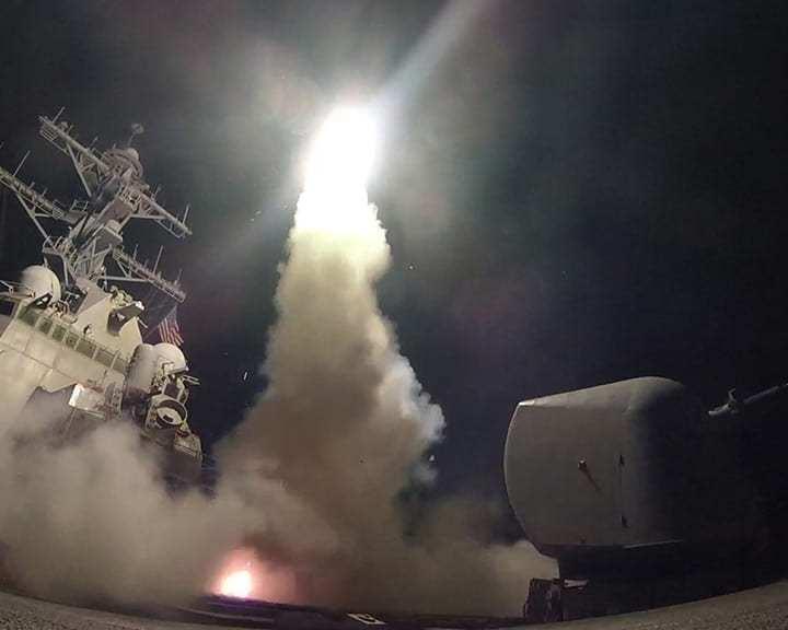 tomahawk launch syria