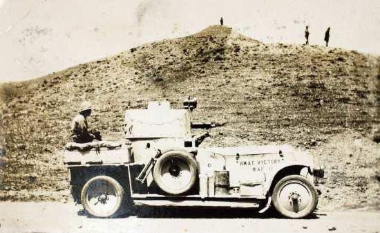 rolls-royce armored car