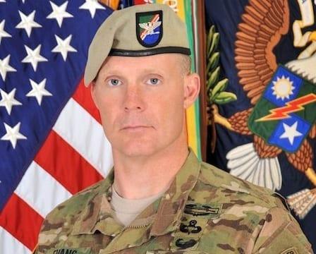 Col. Marcus S. Evans