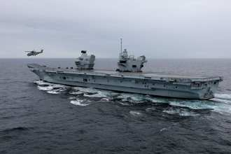 hms-qe-sea-trials