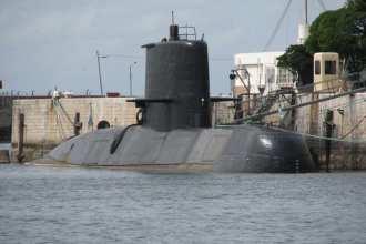 Argentinian navy submarine