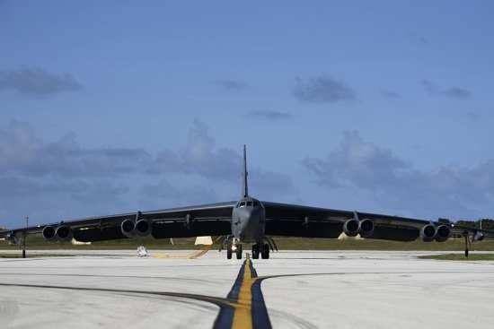 B-52 Guam