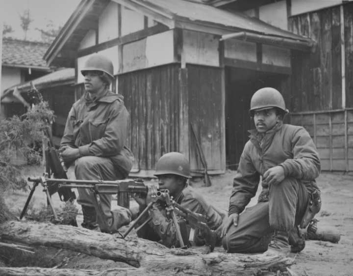 2nd Ranger Company Rangers and their weapons, Korea 1951. Rangers in Korea, as in World War II, made extensive use of the Browning Automatic Rifle (BAR) for dismounted firepower.