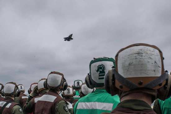 F-35B's First Deployment at Sea | Photos