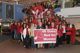 VA Goes Red