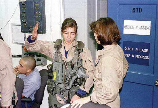 first female aviators in combat