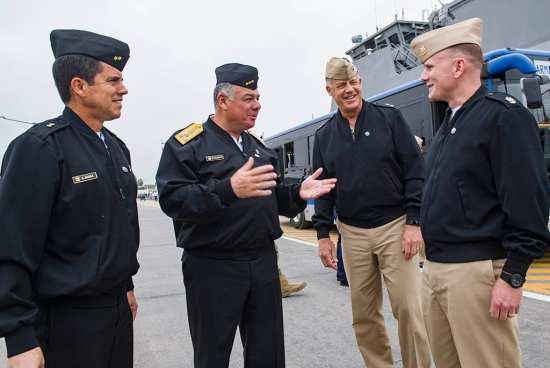 Admirals meet