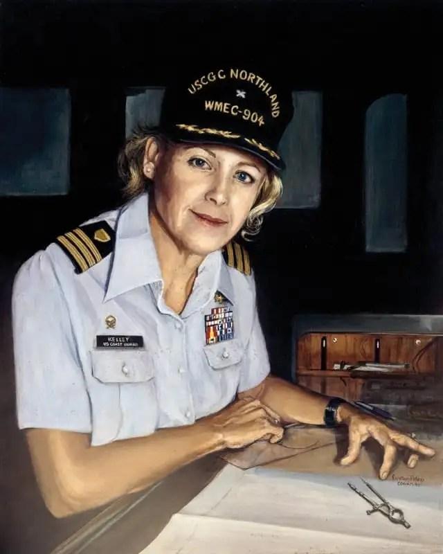 Beverly Kelley USCG women
