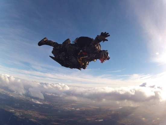 French SOF free fall Rear Adm. Laurent Isnard
