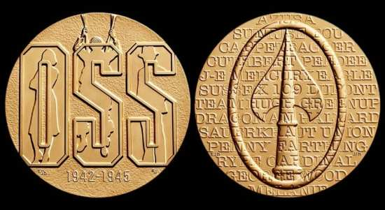 OSS Society OSS congressional gold medal