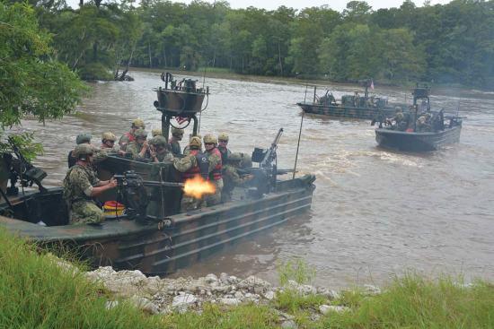 Special Boat Team 22 hot extraction Rear Adm. Tim Szymanski