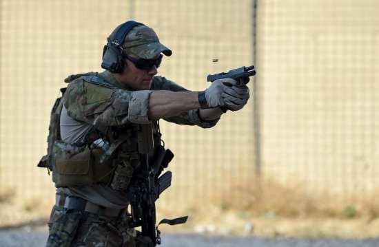 "pararescueman weapons training Lt. Gen. Marshall B. ""Brad"" Webb"