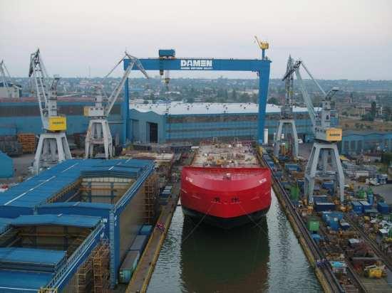Australian icebreaker bow