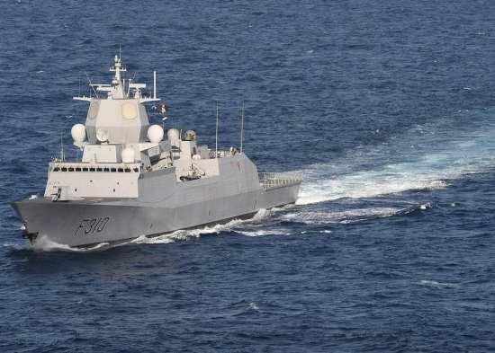 Fridtjof Nansen frigate