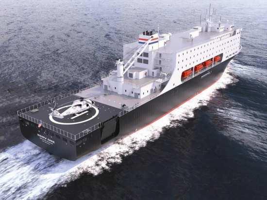 NSMV starboard stern