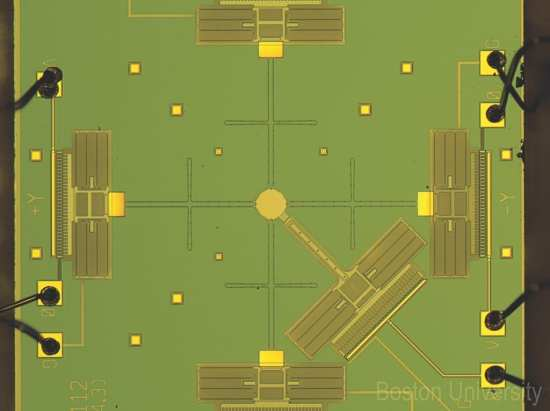 DARPA's Atoms to Product (A2P) program is developing means such as microelectromechanical (MEM)-based manipulation for assembling nanometer- to micro-scale components into larger human-scale systems. DARPA IMAGE