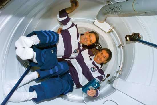 First aboard ISS