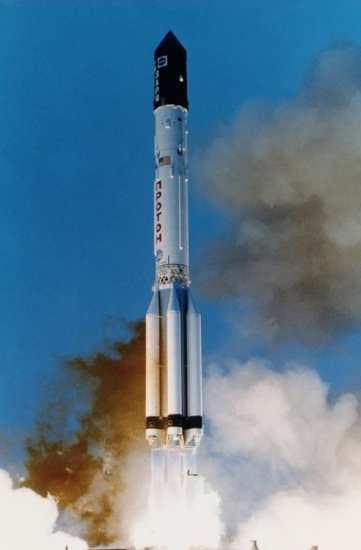 Zarya launch