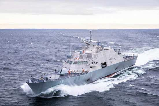 LCS 15 Billings Acceptance Trials | Video