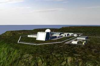 Rendering of Homeland Defense Radar in Oahu, Hawaii Image: Lockheed Martin