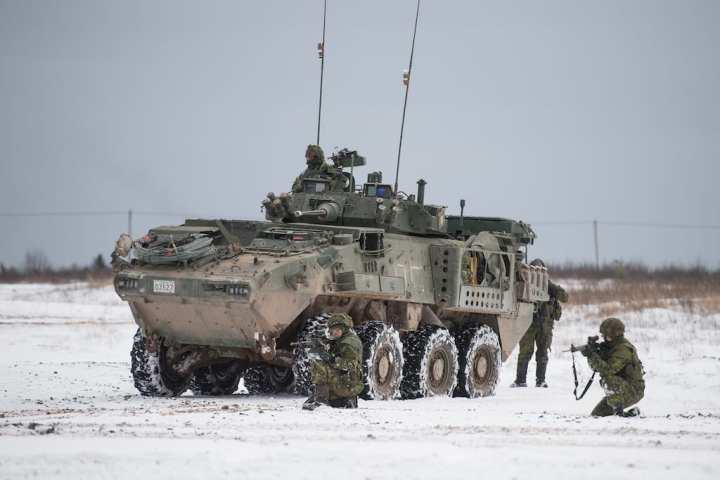 More than 1,000 Canadian Army soldiers participate in Exercise COMMON GROUND II 2018 at 5th Canadian Division Support Group Gagetown, 11 to 24 November 2018. Exercise COMMON GROUND II brings together a number of individual training requirements into a single collective event to achieve the benefits of a more efficient use of resources while exposing the students to a combined arms experience. Canadian Army image