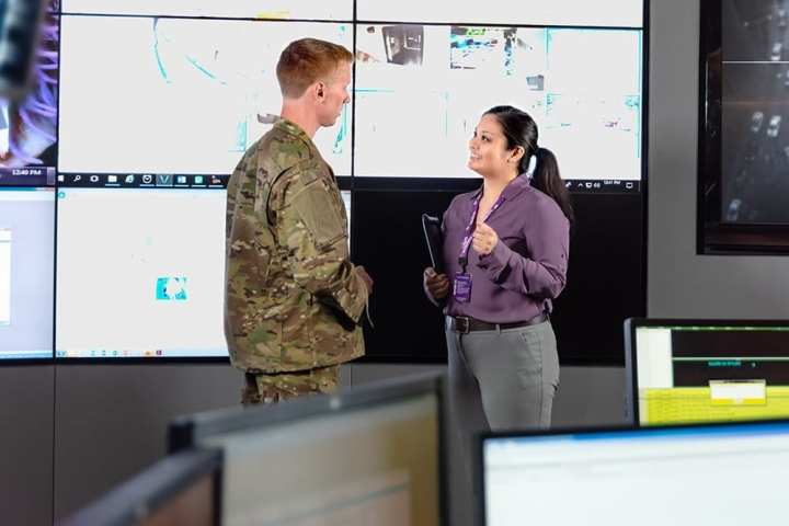 Leidos provides IT services to 37,000 Army Corps of Engineers users.