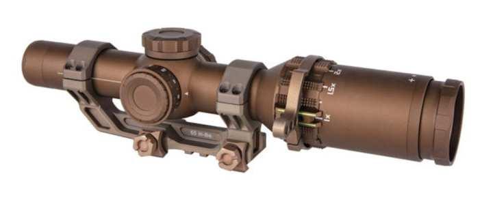 The TANGO6T 1-6×24 Riflescope