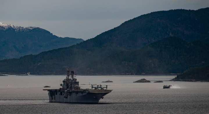 Trident Juncture amphib fjord