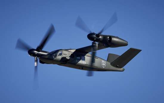 Bell V-280 Valor Arrives at Flight Research Center | Video