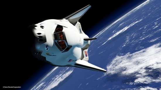 artist concept Dream Chaser ISS web