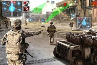 The new Army Artificial Intelligence Task Force, which was created amid a recent push to increase AI efforts across the Defense Department, has recently started pilot projects to find ways to speed up security clearances and analyze imagery for military activity. Photo Credit: U.S. Army graphic