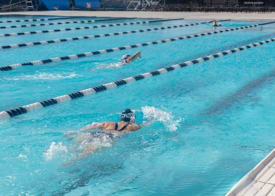 Wounded Warrior-swimming
