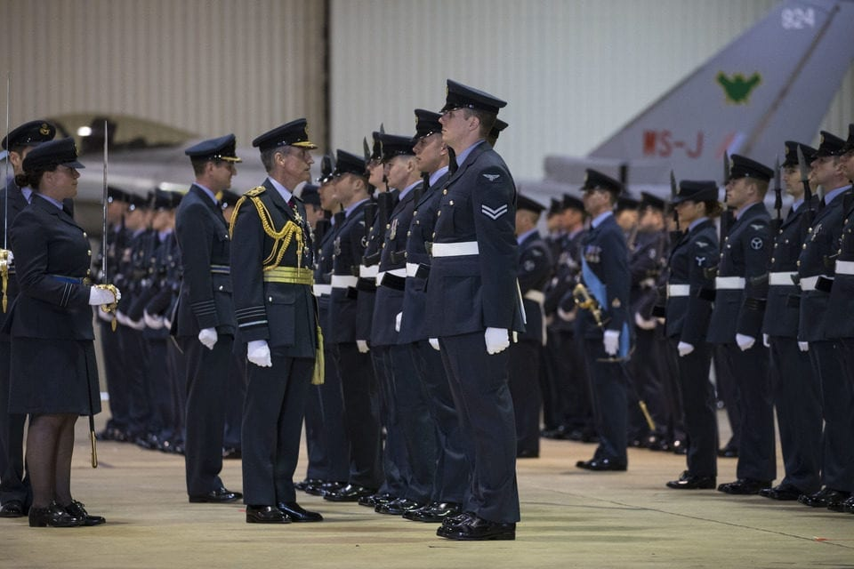 On the 2nd of May 2019 at RAF Lossiemouth IX(B) Squadron performed a stand-up parade making them the fourth QRA Squadron based out of RAF Lossiemouth.