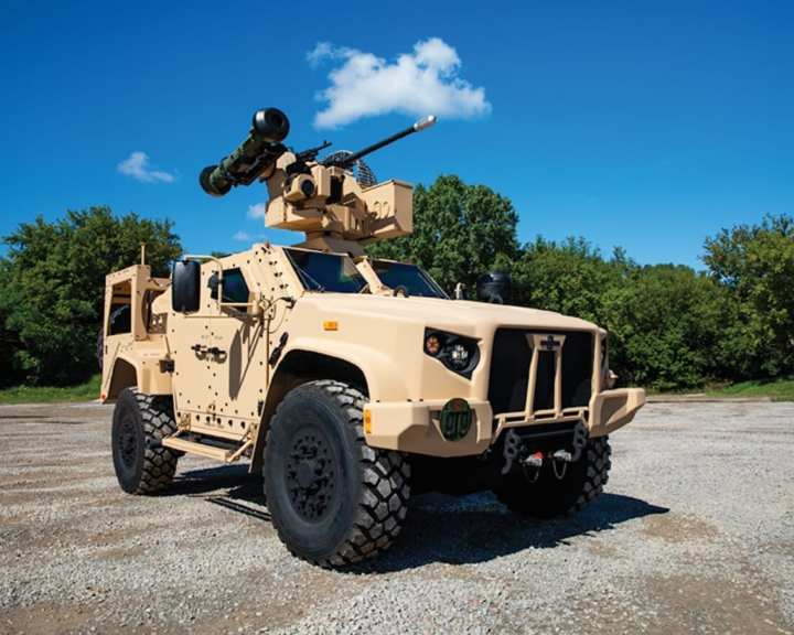 """The JLTV is the only light tactical vehicle on the field today that can maneuver within combat formations, hauling critical weaponry and equipment across tough terrain, all while keeping our troops safe and protected."""