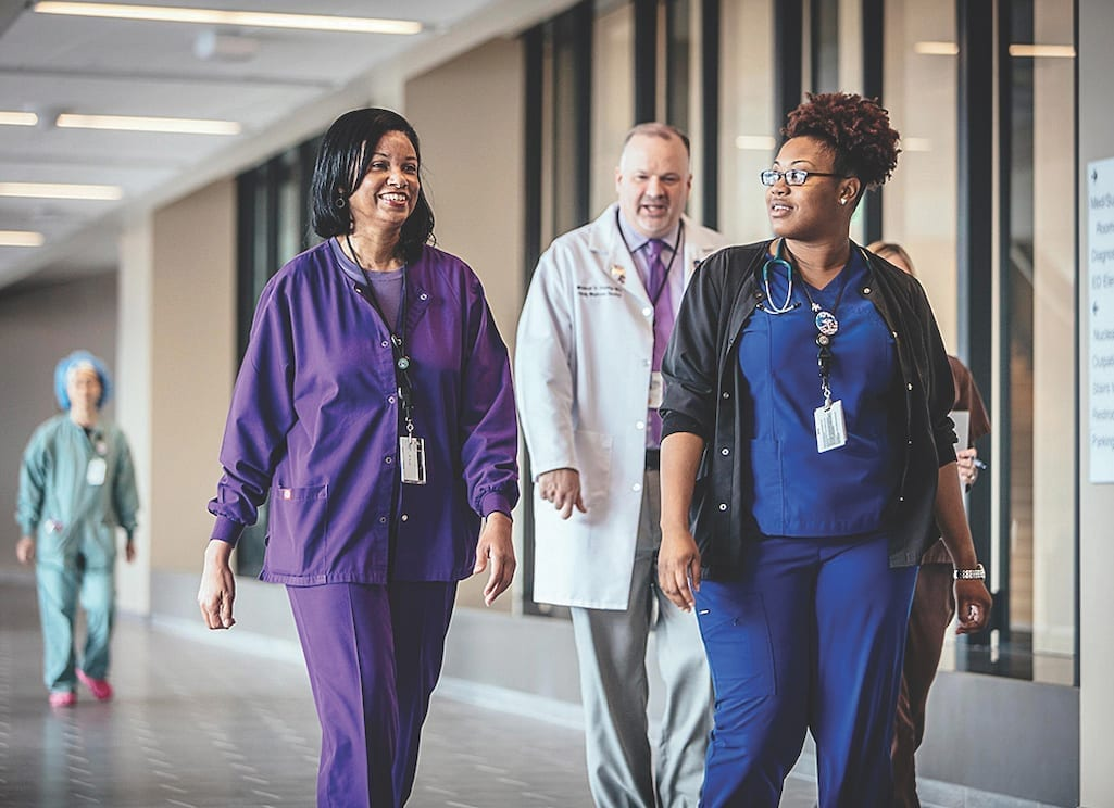 VA nurses are offered a wide range of educational programs and support, including the Employee Incentive Scholarship Program, which provides VHA employees the opportunity to further their education. (VA image)