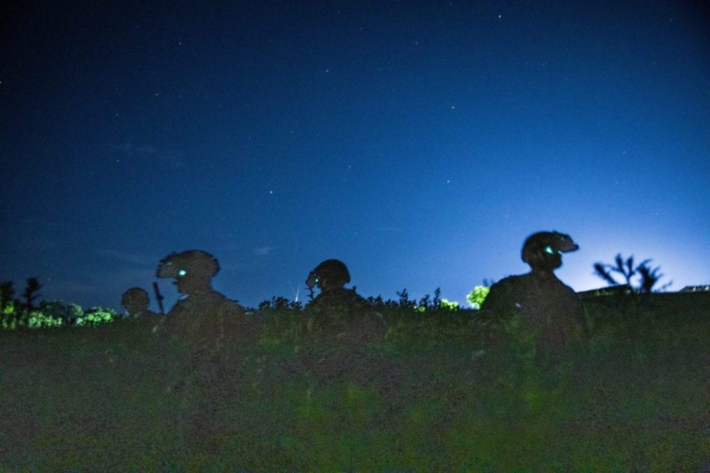 U.S. Army Special Forces assigned to 19th Special Forces Group (Airborne) prepare to assault an objective near Cincu, Romania June 19, 2019 as part of Trojan Footprint 19. Trojan Footprint is an annual U.S. Special Operations Command Europe-led exercise that incorporates Allied and partner special operations forces, this year's exercise brought together 1400 SOF from ten nations for training over land, sea and air across Bulgaria, Hungary, Romania and the Black Sea. (U.S. Army photo by Spc. Patrik Orcutt).