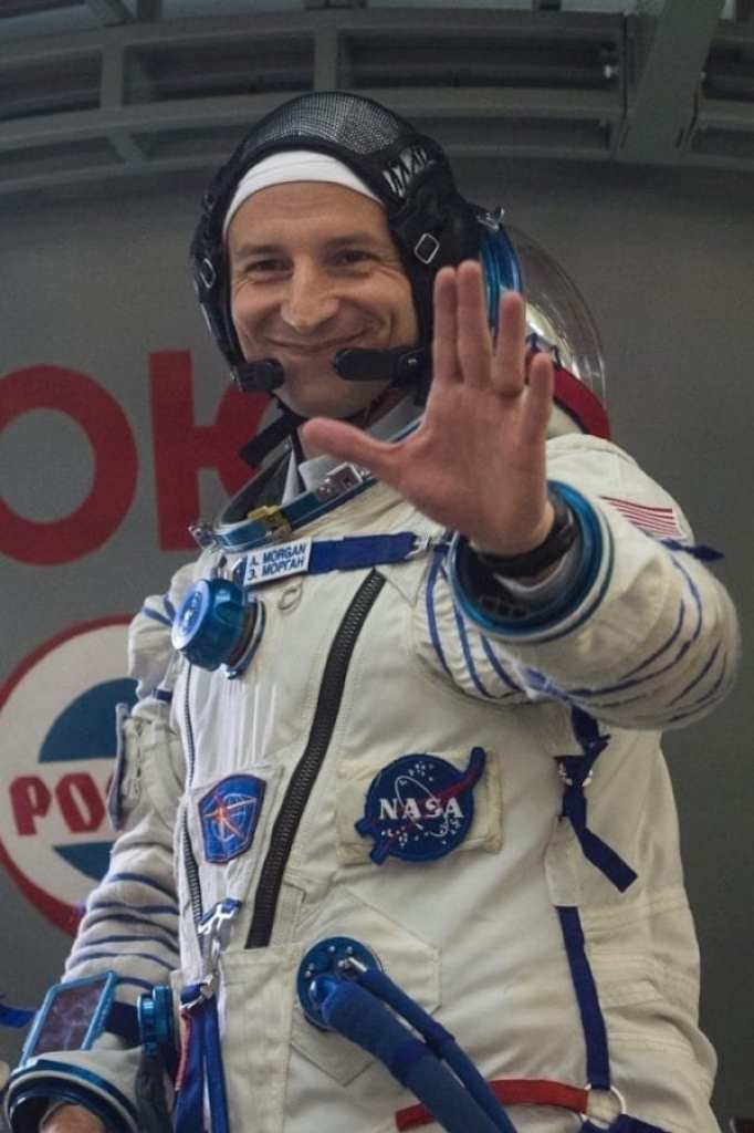 U.S. Army Col. Andrew R. Morgan, M.D., launches from the Baikonur Cosmodrome, Kazakhstan, aboard a Soyuz (Union) MS-13 spacecraft July 20 at 12:28 p.m. Eastern Daylight Time for a nine-month mission aboard the International Space Station.