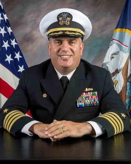 Capt. Joe Femino, USN