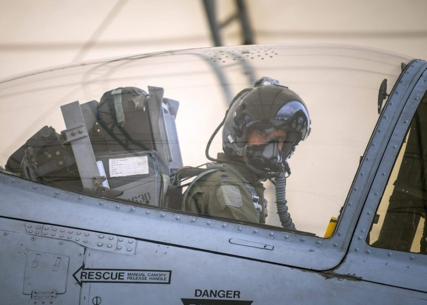 Lt. Col. Jeremy Johnston, 75th Fighter Squadron assistant director of operations, prepares to taxi an A-10C Thunderbolt II during a sortie surge exercise, July 24, 2019, at Moody Air Force Base, Ga. The exercise was conducted to determine Airmen's abilities to perform effectively while generating combat or training sorties at an accelerated rate. Throughout the four-day surge, pilots and maintainers completed 131 sorties spanning approximately 152 flying hours. (U.S. Air Force photo by Airman 1st Class Eugene Oliver)