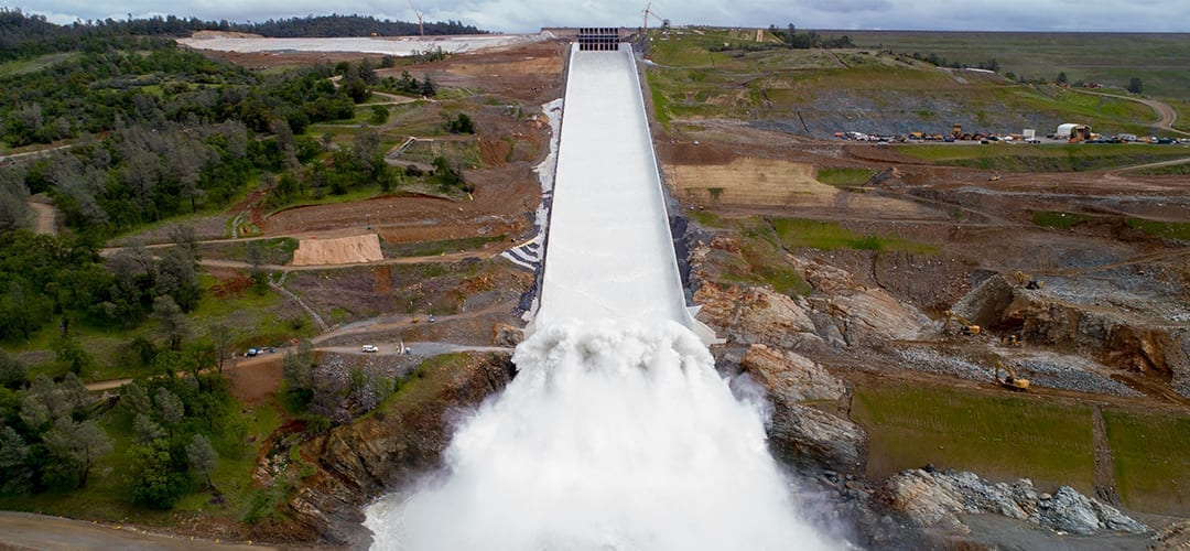 Oroville Spillway Repaired