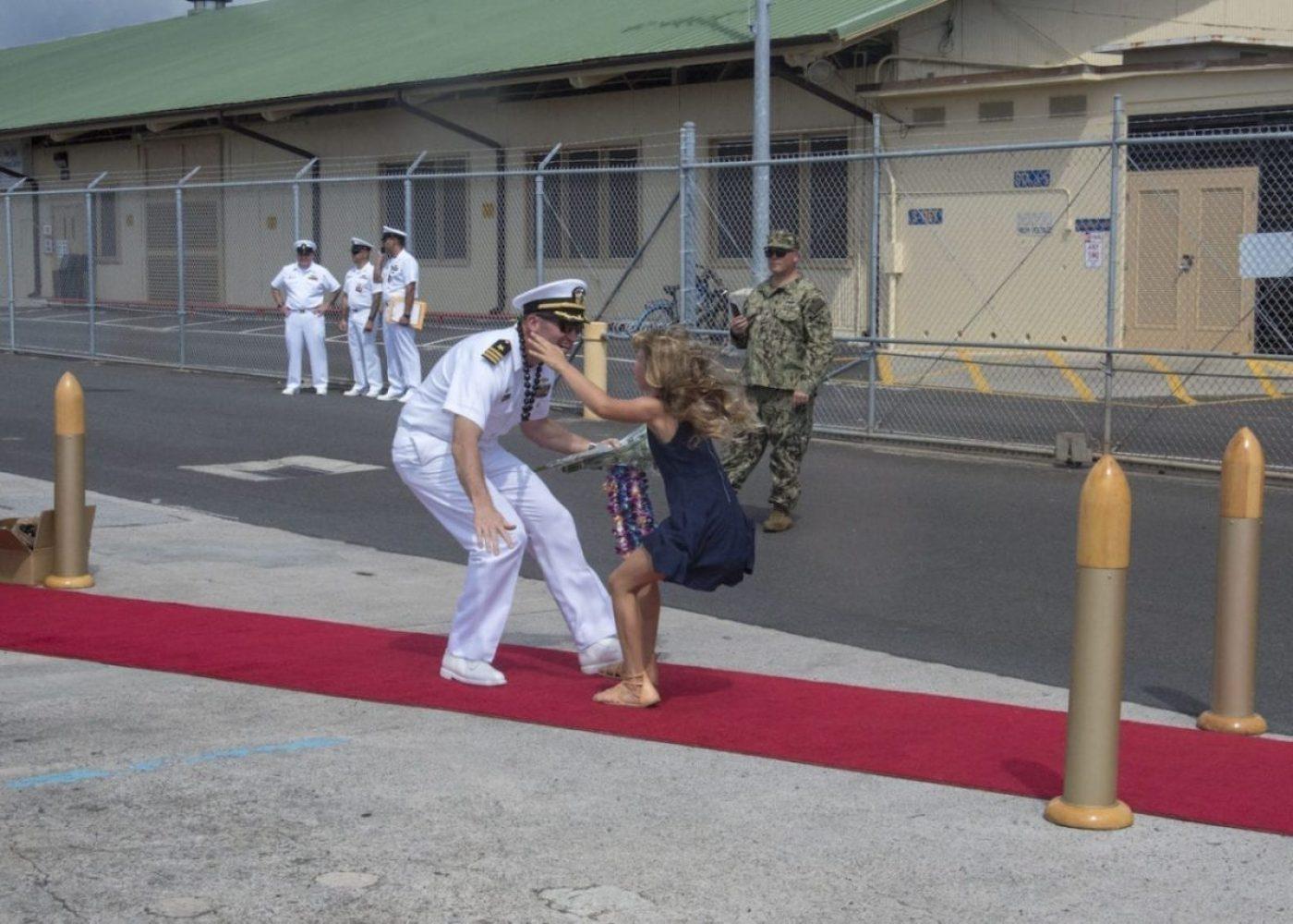 USS Olympia Family Reunite