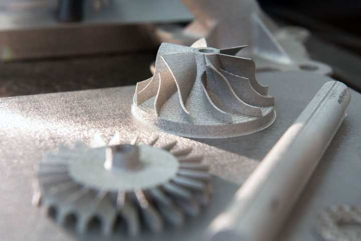 Titanium parts printed from powder and a laser provide researchers with high-strength, heat-resistant examples of the future of additive manufacturing.