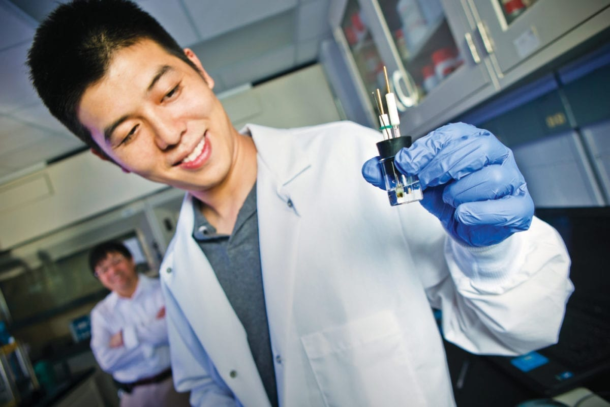 Researchers at the University of Maryland have partnered with the Army Research Laboratory on scientific research for batteries in extreme environments. The collaboration via Open Campus has resulted in discoveries that could make both lithium-ion and zinc batteries safer and more efficient.