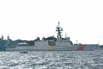 USCG Stratton North Korean Sanctions Philippines Partner DPRK
