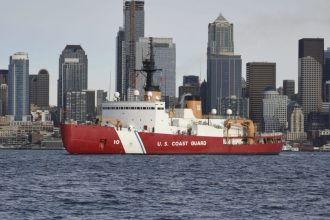 USCGC Polar Star Heads for Antarctic Operation Deep Freeze 2020